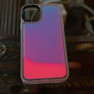Casetify Neon Sands Pink/Blue Combo 11 Pro Max